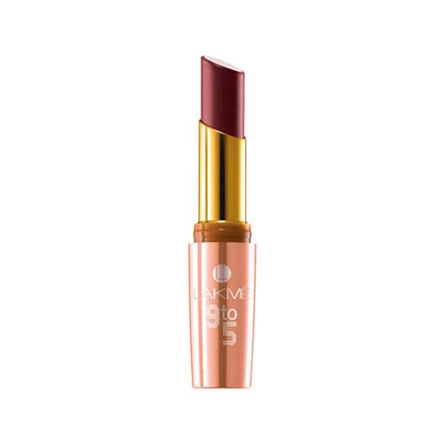 Lakme 9 To 5 Matte Lip Color - Pink Bureu P4