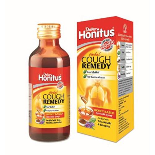 Dabur Honitus Herbal Cough Remedy Ayurvedic Syrup