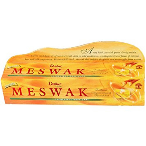 Dabur Meswak Tooth Paste - 200g with Free Dabur Honey 20g