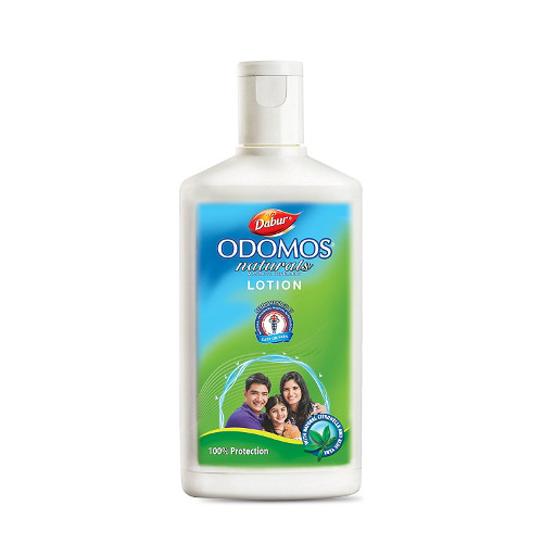 Dabur Odomus Naturals Lotion -60ml Aloe with Citronella