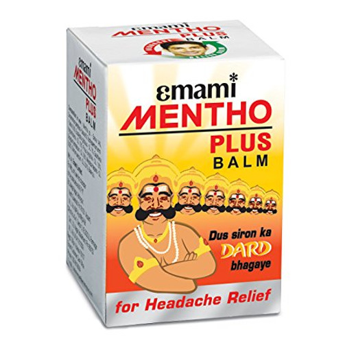 Emami Mentho Plus Balm - 9ml (Pack of 20)