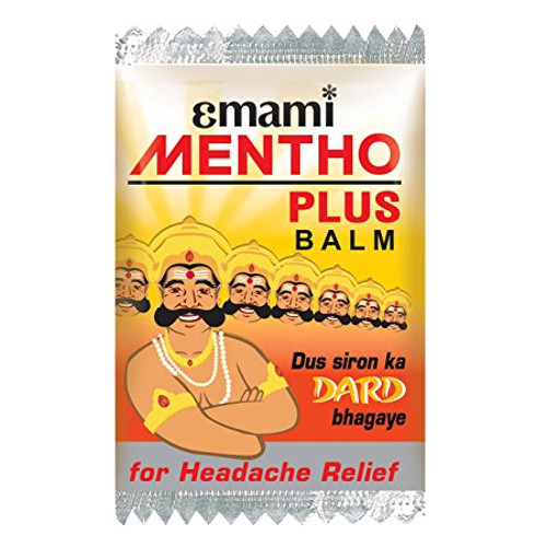 Emami Mentho Plus Balm - 1ml (Pack of 100)