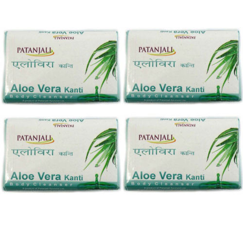Patanjali Aloe  Vera Kanti Body Cleanser - 150g