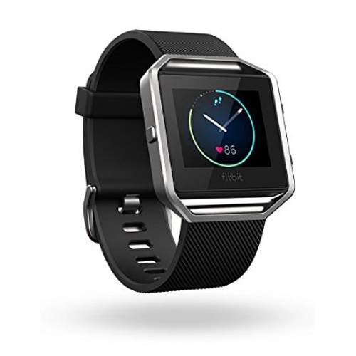 Fitbit Blaze Smart Fitness Watch (Black/Silver)