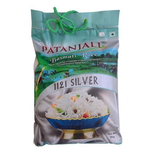 Patanjali Basmati Rice Silver - 5kg