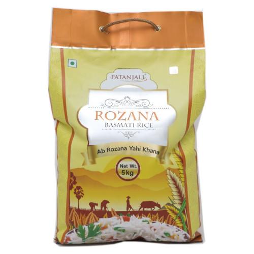 Patanjali Rozana Basmati Rice - 5kg