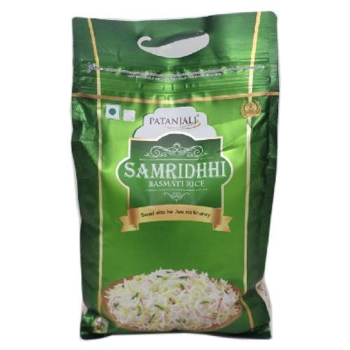 Patanjali Samridhhi Basmati Rice - 5kg