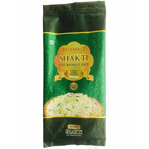Patanjali Shakti XXL Basmati Rice 1kg