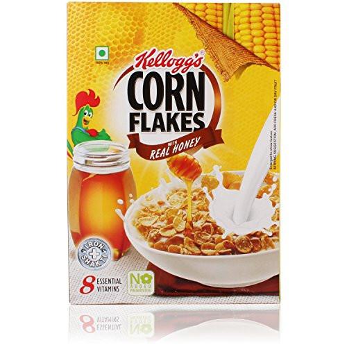 Kellog's Corn Flakes with Real Honey - 300g