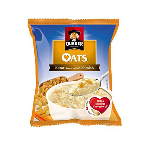 Quaker oats - Kesar & Kishmish, 40g (Pack of 192)