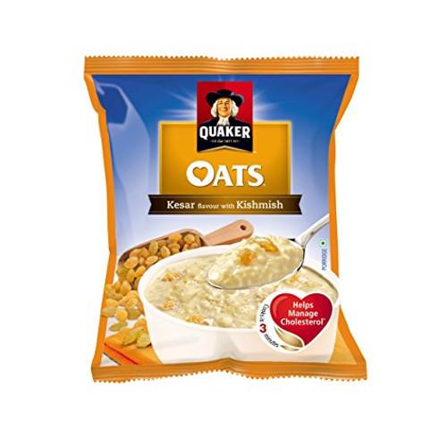 Quaker oats - Kesar & Kishmish, 40g (Pack of 192)