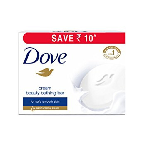 Dove Cream Beauty Bathing Bar - 100g (Pack of 3)