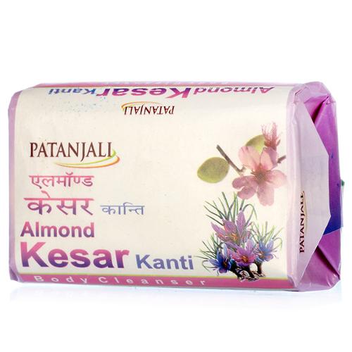 Patanjali Almond Kesar Kanti Body Cleanser -75g