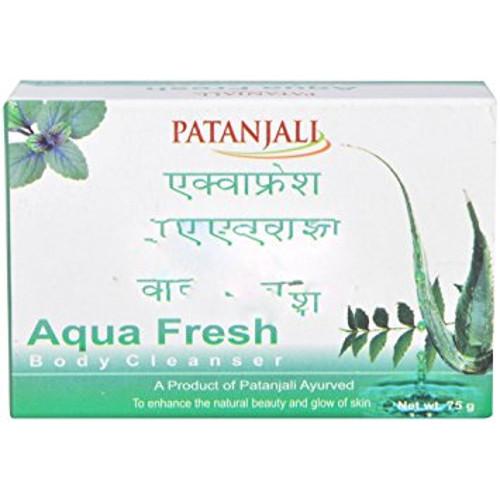 Patanjali Aqua Fresh Body Cleanser - 75g