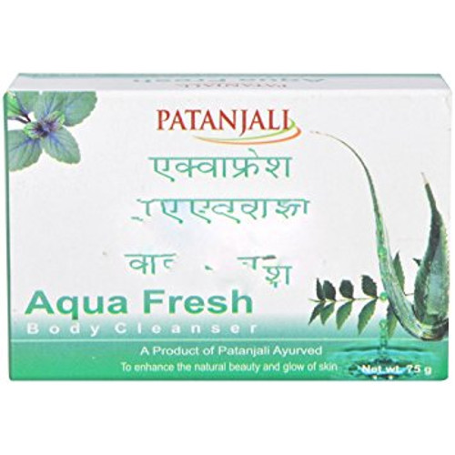 Patanjali Aqua Fresh Body Cleanser - 75g