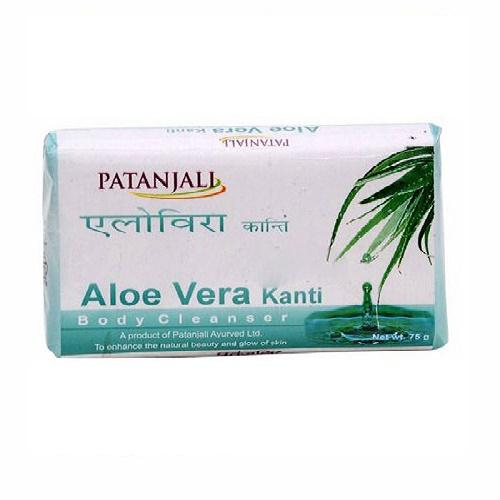 Patanjali Aloe Vera Kanti Body Cleanser -75g