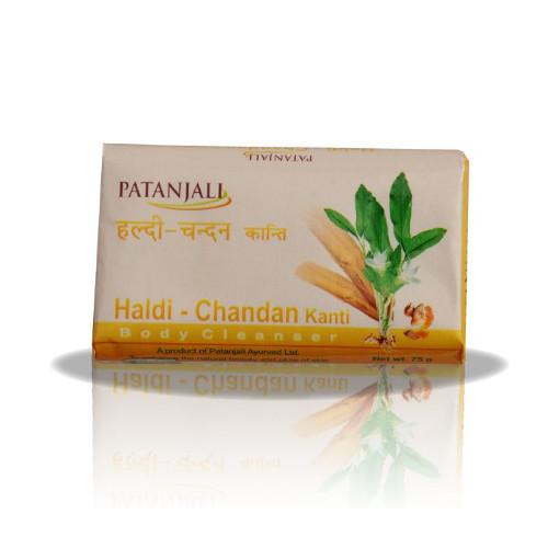Patanjali Haldi Chandan Kanti Body Cleanser -75g