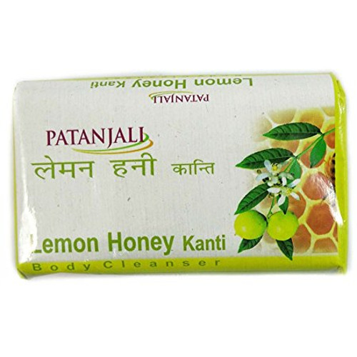 Patanjali Lemon Honey Kanti Body Cleanser - 75g