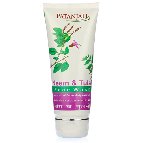 Patanjali Neem & Tulsi Face Wash 60g (Pack of 3)