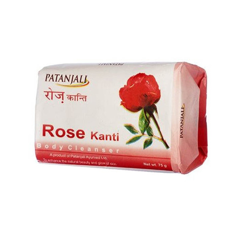 Patanjali Rose Body Cleanser - 75g