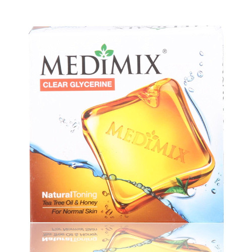Medimix Clear Glycerine Natural Toning (Pack of 3)