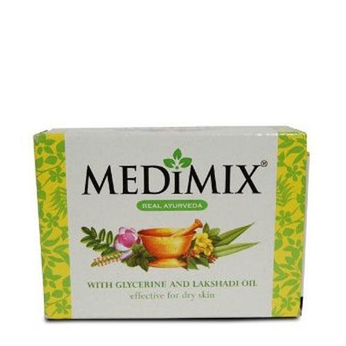 Medimix Soap with Glycerine & Lakshadi Oil -125g (Pk of 3)