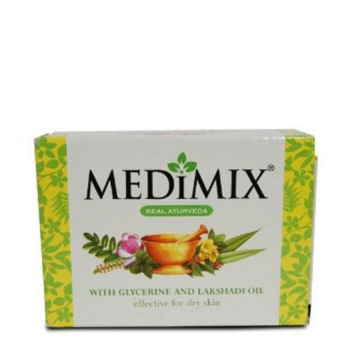 Medimix Soap with Glycerine & Lakshadi Oil -125g (Pk of 3)