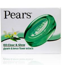 Pears Oil Clear and Glow Soap Bar