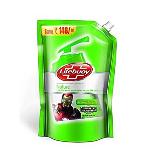 Lifebuoy Nature Handwash - Refill Pack