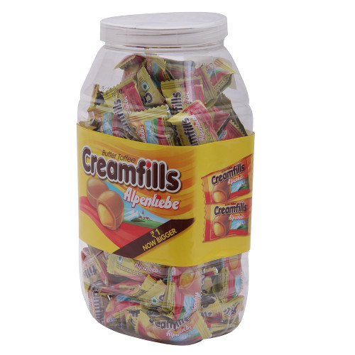 Alpenliebe Cream Fills Jar -150 Pieces