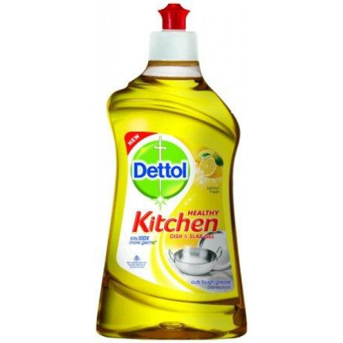 Dettol Kitchen Dish and Slab Gel (Lemon Fresh) -200ml
