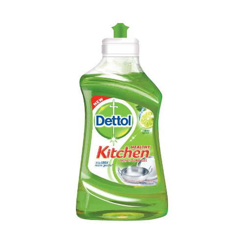 Dettol Kitchen Dish and Slab Gel (Lime Splash) -200ml