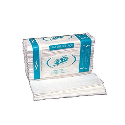 Excel M Fold Washroom Pulpy Paper Towels 21cm x 23cm