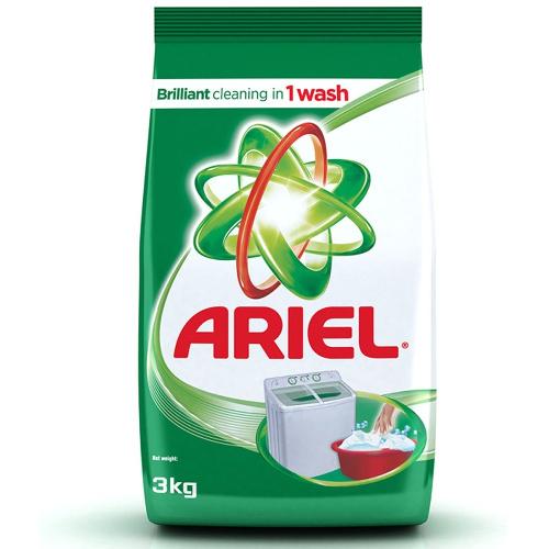 Ariel Complete Detergent Powder 3 kg Pack