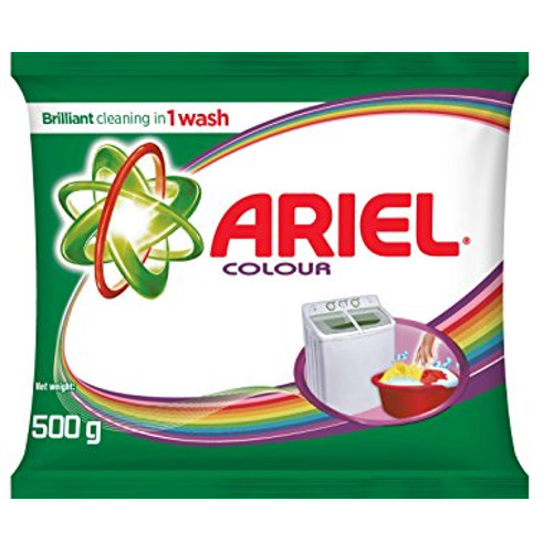 Ariel Complete Colour and Style Detergent Powder -500g Pack