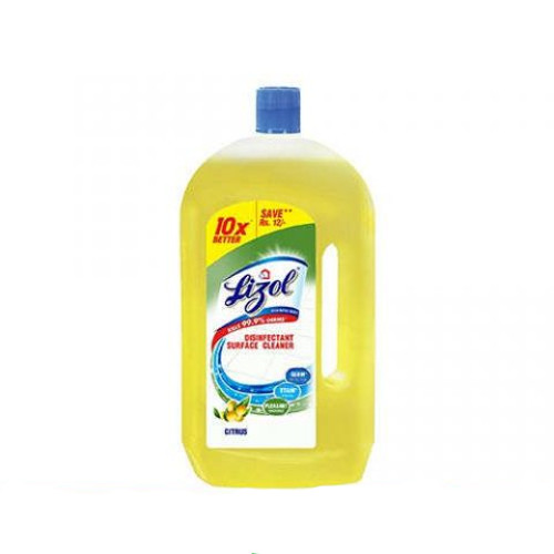 Lizol Disinfectant Floor Cleaner, Citrus -975ml