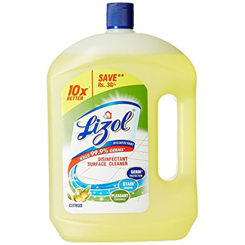 Lizol Disinfectant Floor Cleaner, Citrus - 2Litre