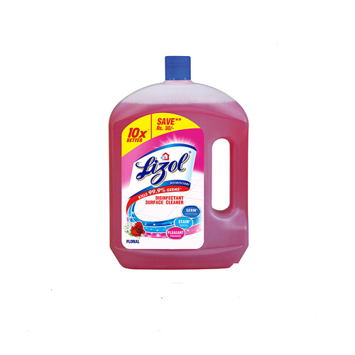 Lizol Disinfectant Floor Cleaner, Floral - 2Litre