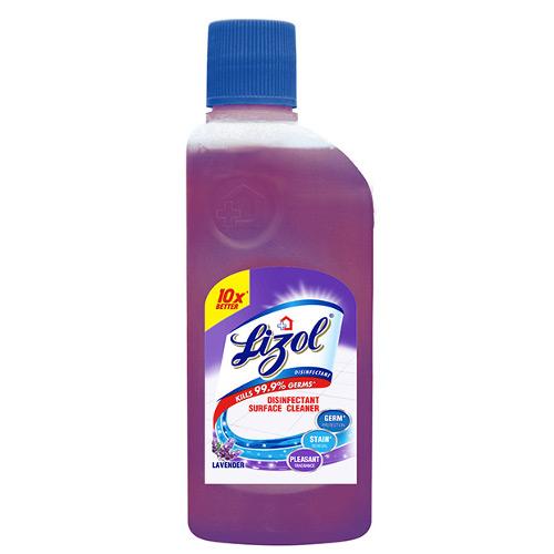Lizol Disinfectant Floor Cleaner, Lavender - 200ml