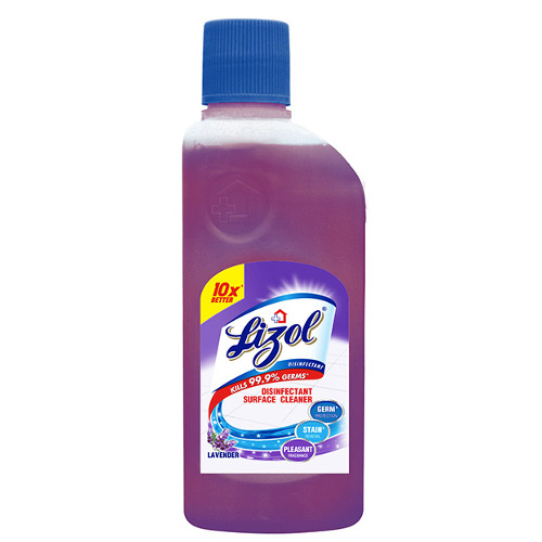 Lizol Disinfectant Floor Cleaner, Lavender - 200ml