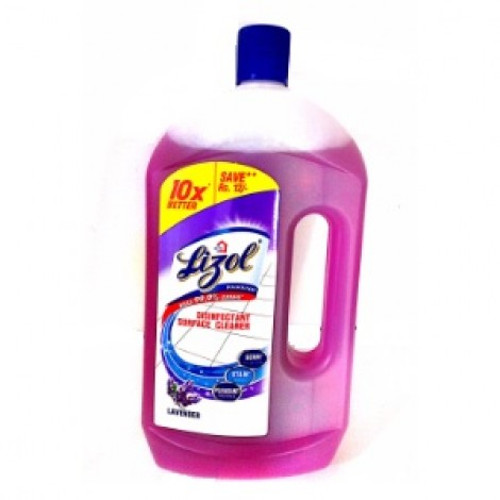 Lizol Disinfectant Floor Cleaner, Lavender - 975ml