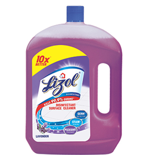 Lizol Disinfectant Floor Cleaner, Lavender - 2Litre