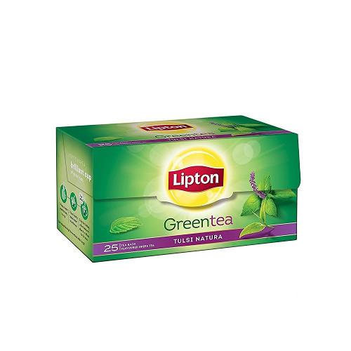 Lipton Tulsi Natura Green Tea Bags