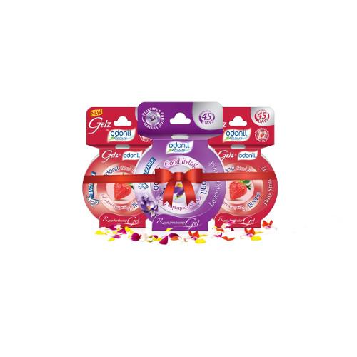 Odonil New Fragrance Gel -75g (Buy 2 Get 1 Free)
