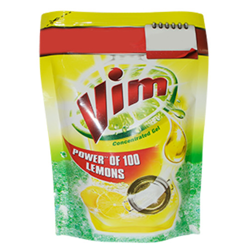 Vim Liquid Power of 100 Lemons -500ml Pouch
