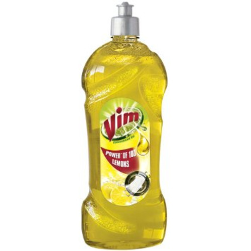 Vim Dishwash Liquid -Lemon 750ml (Save Rs.9)