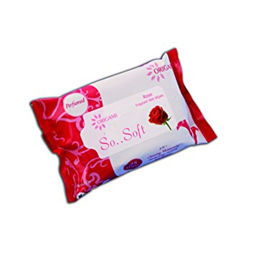 Origami So.. Soft Wet Wipes - Rose