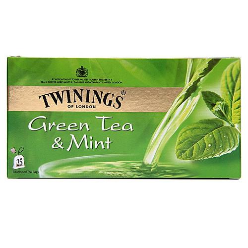 Twinings Green Tea & Mint - Bags