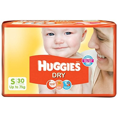 Huggies New Dry Diapers - Small