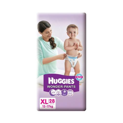 Huggies Wonder Pants Extra Large Size Diapers